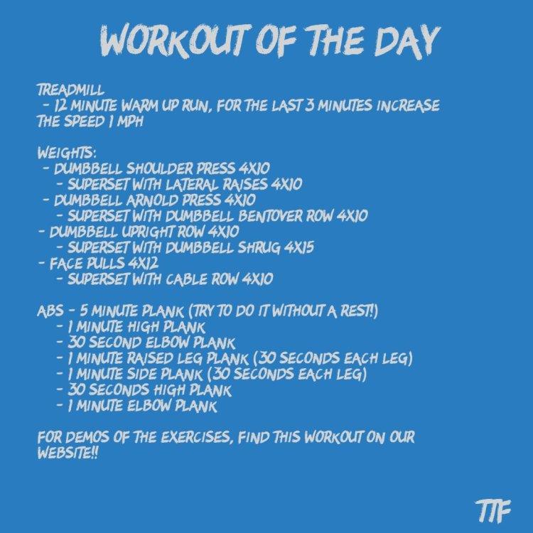 40 Minute Back and Shoulder Workout