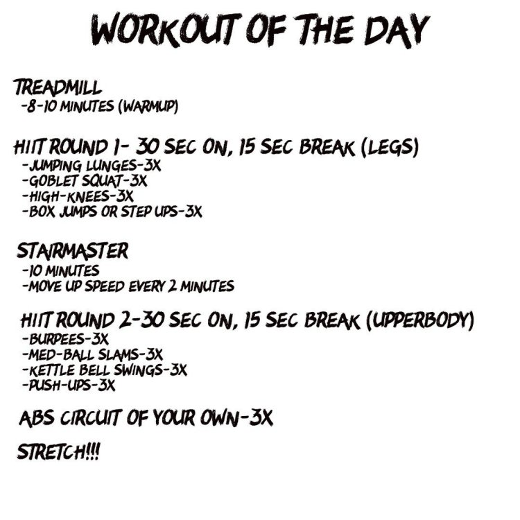 Quick and Easy HIIT Workout
