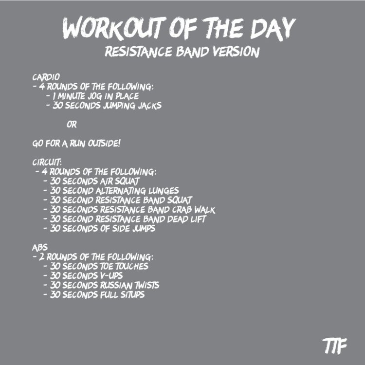 Today's... workout of the day, we are going to be doing a home leg workout. This is another workout in our coronavirus workout series which all of the workouts are made to do from anywhere, especially home since that is where you are suppose to be!