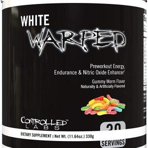 White Warped Pre-Workout