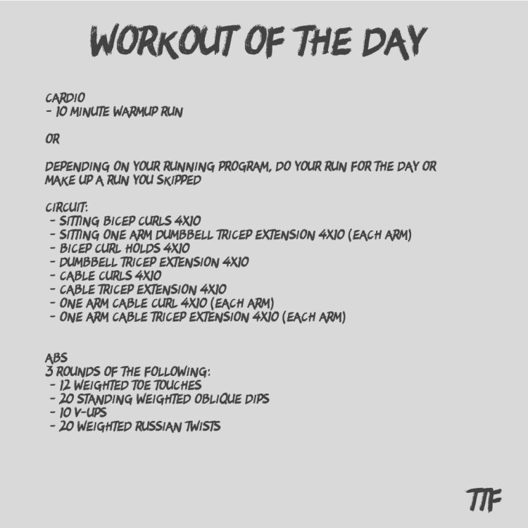 The Ultimate Arm Workout
