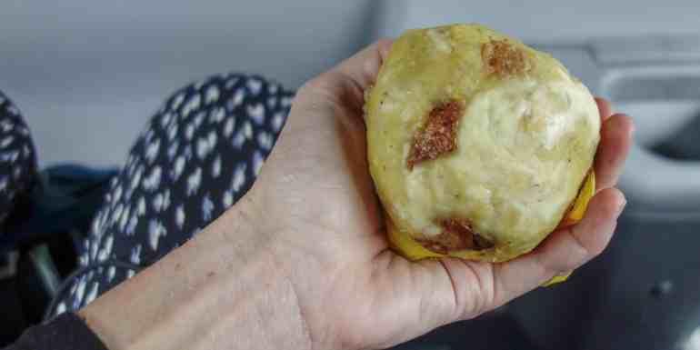 Boln, typical food in Ecuador