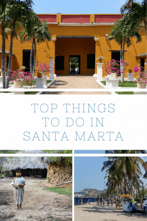 Pinterest image for top things to do in Santa Marta