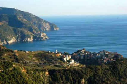 Corniglia, vía web Cinque Terre Corniglia