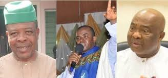 emeka ihedioha and father mbaka and hope uzodinma