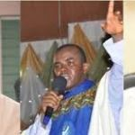 See Father Mbaka's reaction after Hope Uzodinma was declared winner at the Supreme court