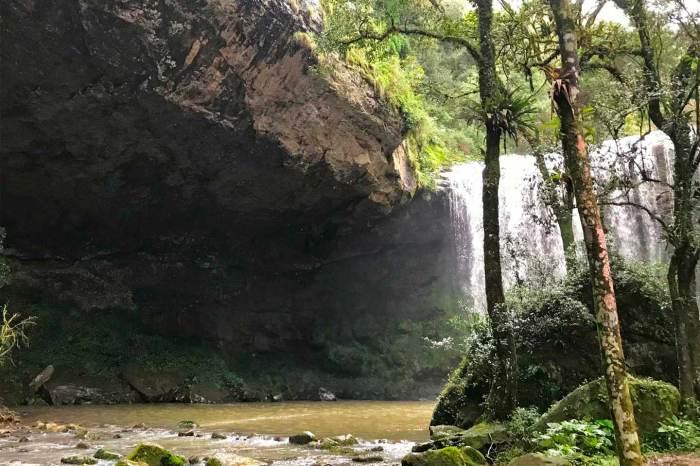 Cachoeiras Grutão e Salto São Nicolau