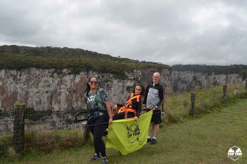 TOP TRIP ADVENTURE | ACESSIBILIDADE | CADEIRA JULIETTI
