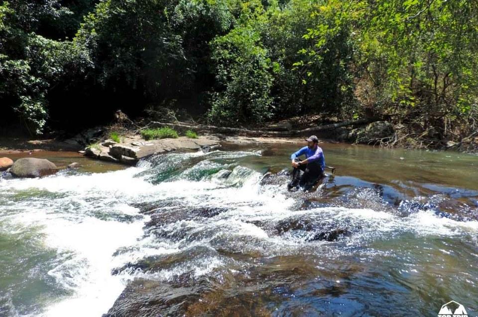 Aquatrekking – trilha no rio