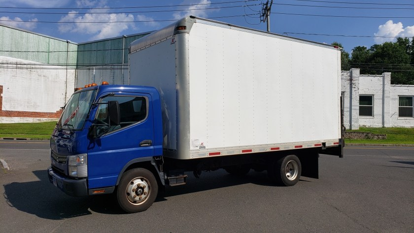 2012 Mitsubishi-Fuso FE160 with 16 alum van body