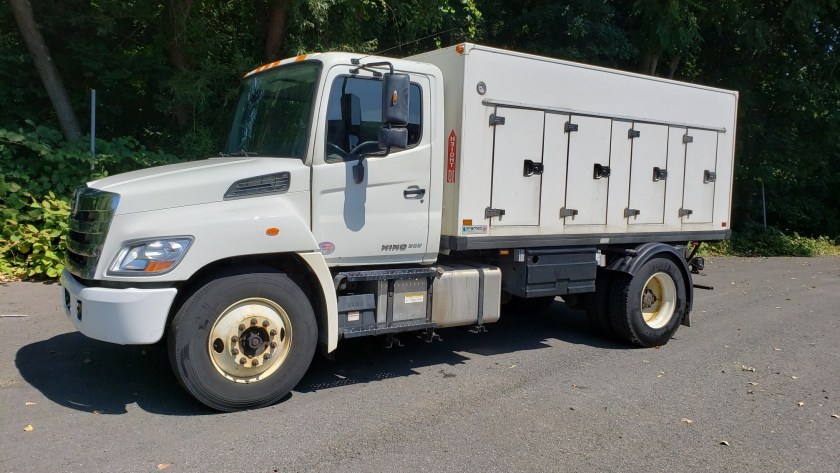 2014 Hino 268 with Framec 14 4x4 cold plate gelato body