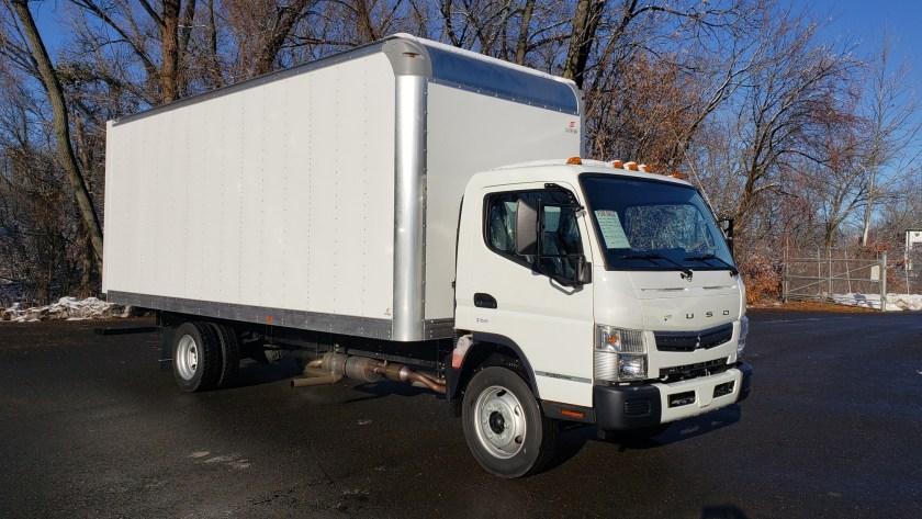 2020 Fusu FE180G with a 20 Supreme Van Body