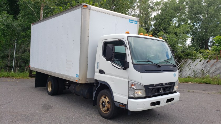 2009 Fuso FE145 with a 16 box