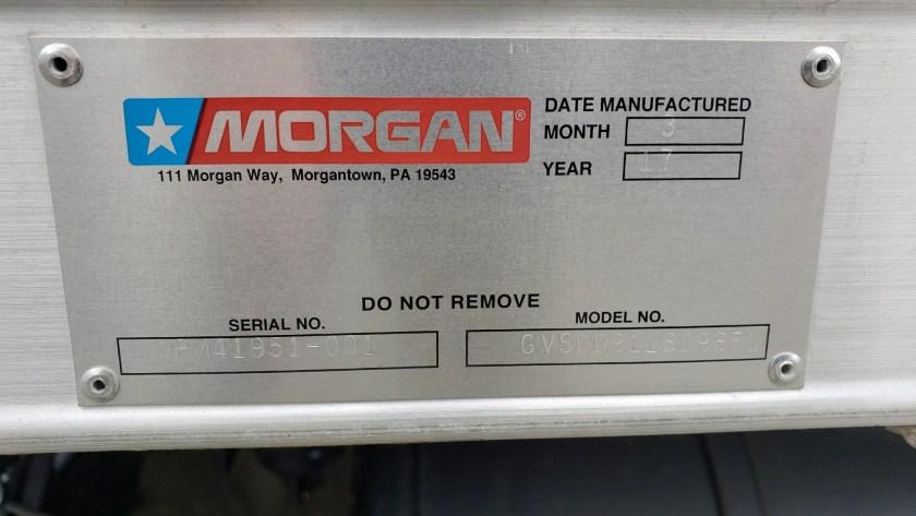 2017 Morgan 16 alum van body