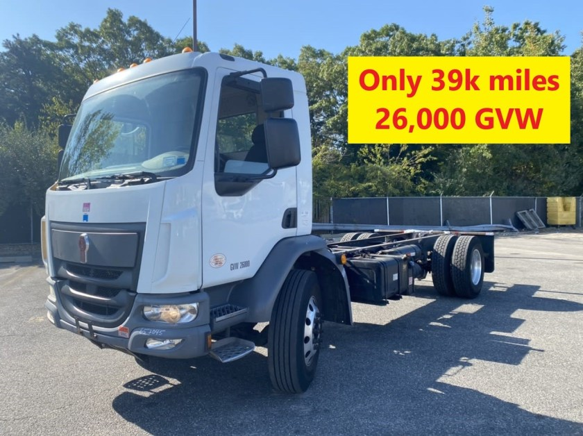 2016 KW K270 cab & chassis