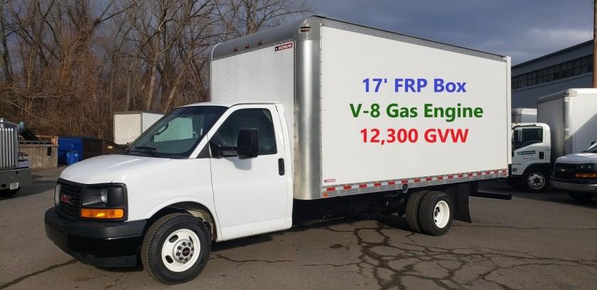 2017 GMC 17 Cube Van