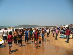 пляж Калангут Гоа