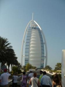 1ОАЭ Экскурсия Дубаи, отель Парус