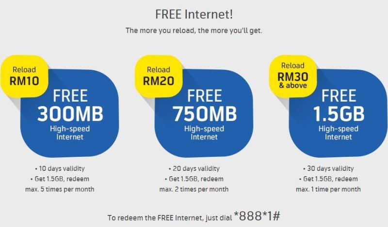 free internet digi