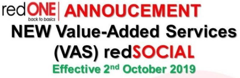 Redone Memperkenalkan RedSOCIAL
