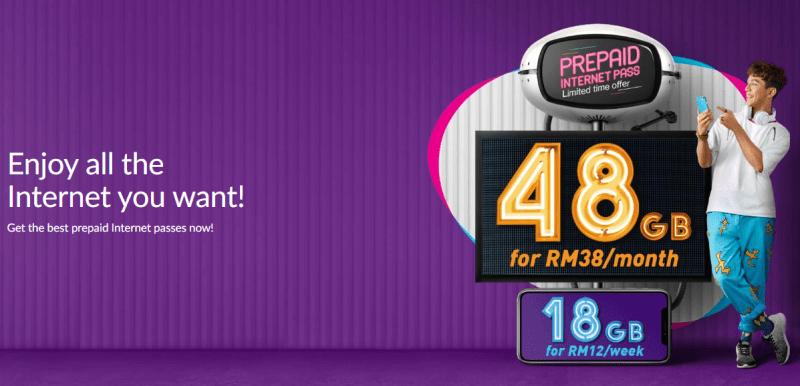Xpax Menawarkan 48 GB Dengan Hanya RM38