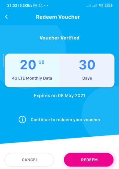 shopee yes free databack