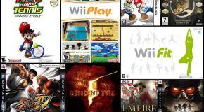 Top Videojuegos marzo 2009