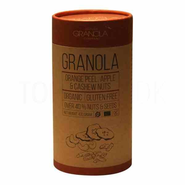 Topvine Granola orange-aeble-cashewnoedder
