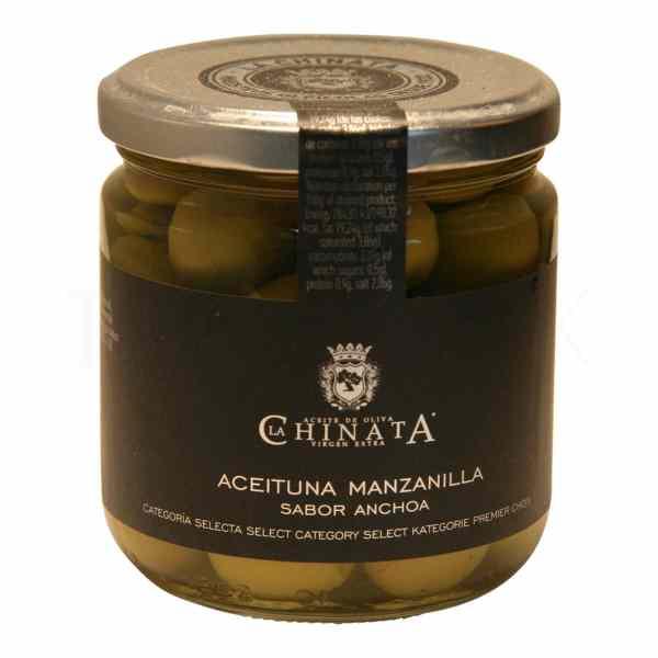 Topvine La Chinata – Groenne oliven med sten, 200 gr