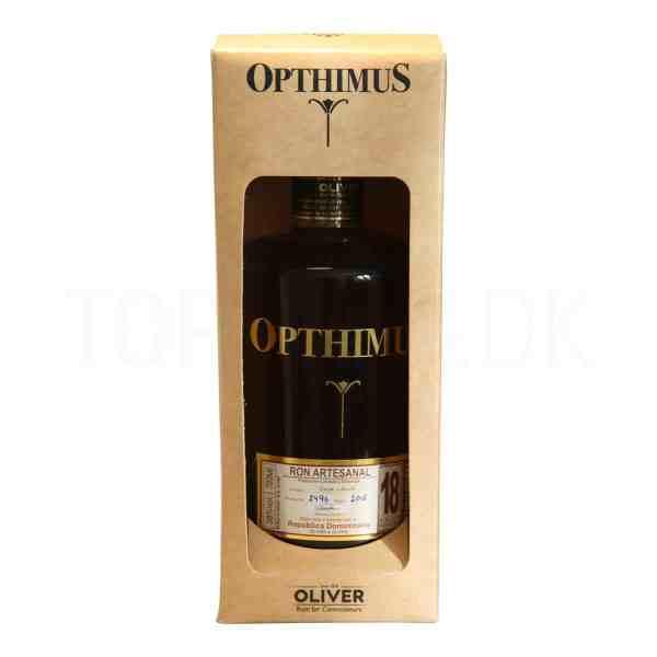 Topvine Opthimus 18 aars rom ron artesanal