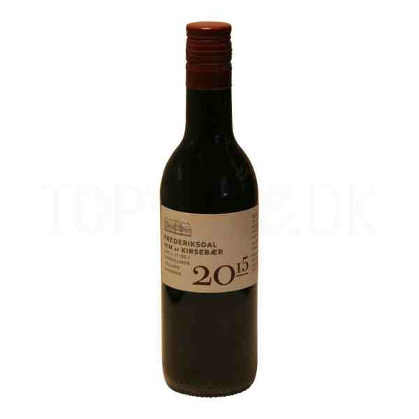 Topvine Frederiksdal kirsebaer vin 2015 187 ml