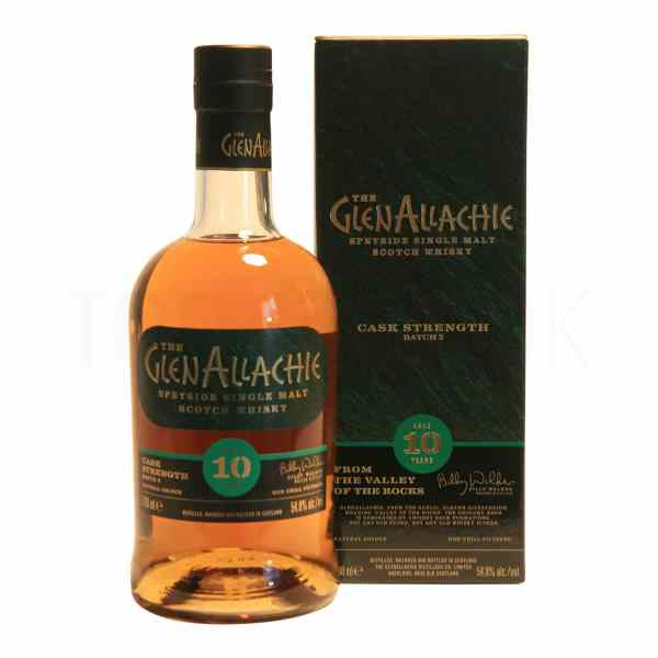 Topvine GlenAllachie single malt 10 aars