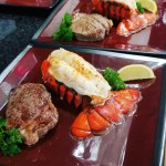 Surf & Turf from our Sample Menu at Top Water Cooking Personal Chef Services