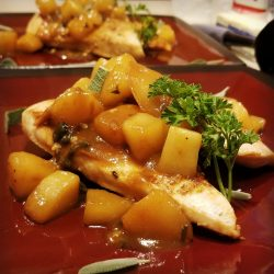 Pear Chicken Recipe by Top Water Cooking Personal Chef Services in Pennsylvania