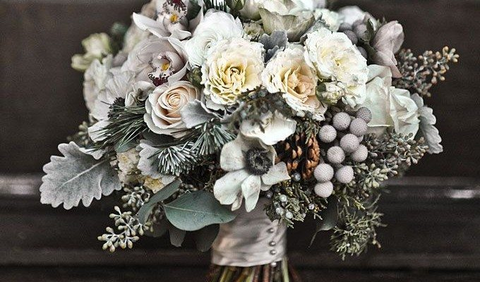 Inspirational Ideas For Winter Wedding Flowers