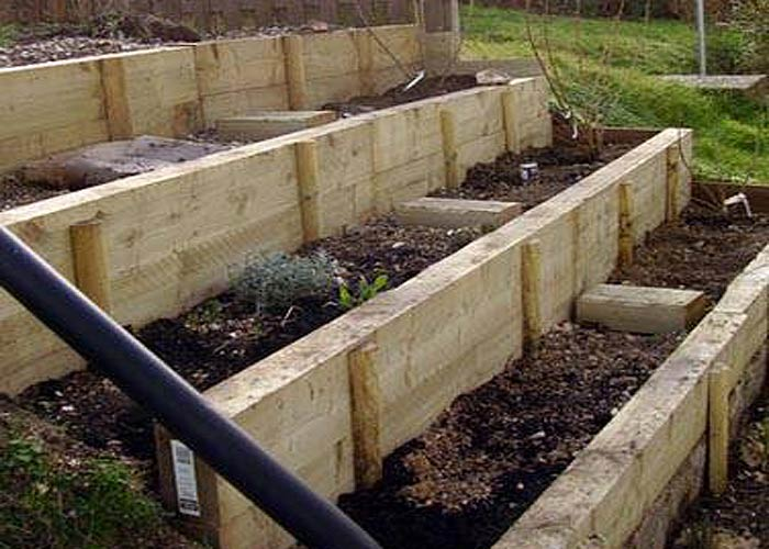 Planting Box Vegetable Garden