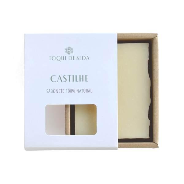 sabonete castilhe: sabonete de azeite de oliva e abacate em caixa de cartão