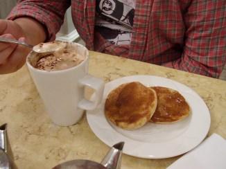 Les muffins à la cannelle