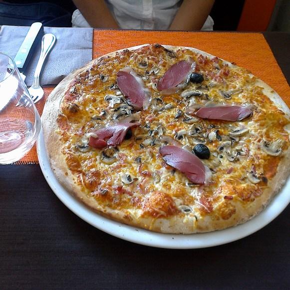 Pizza Landaise et...