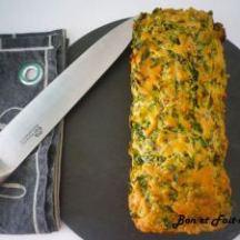 Cake aux blettes et au jambon de Marina