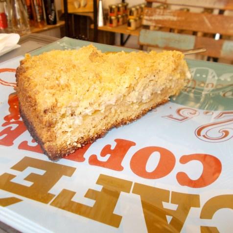 le crumb cake à la pomme