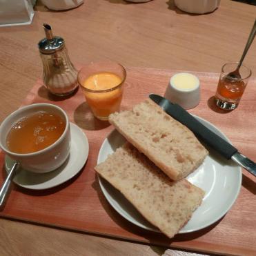 Petit déjeuner classique