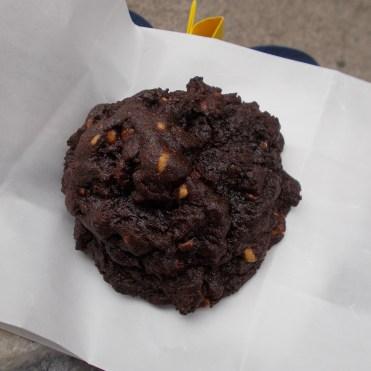 Cookie tout chocolat et peanut butter