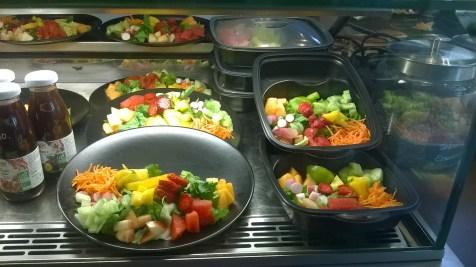 de belles salades colorées