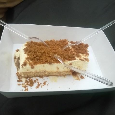 Tiramisu au caramel beurre salé