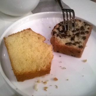 Cake citron et pépites de chocolat