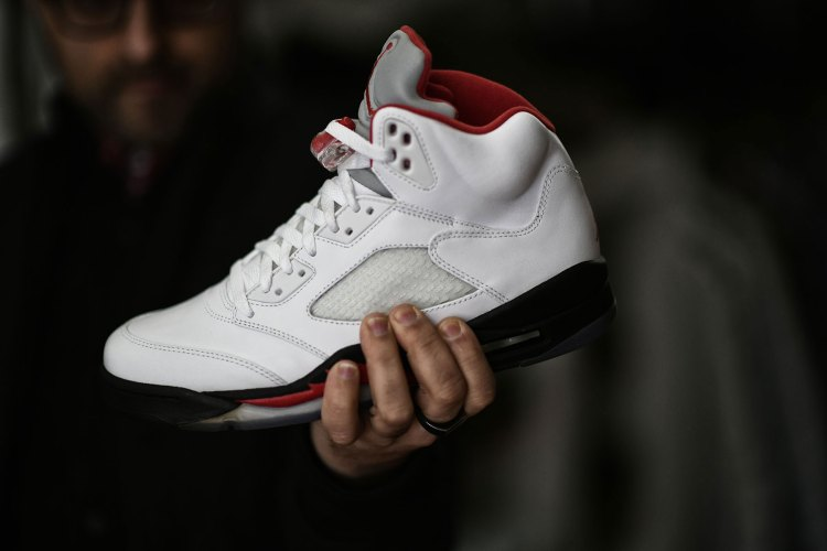 c9ddf0e47e6 While the pair featured here is a 2013 re-release, the original Jordan 5s  were released in 1990 when I was a young ...