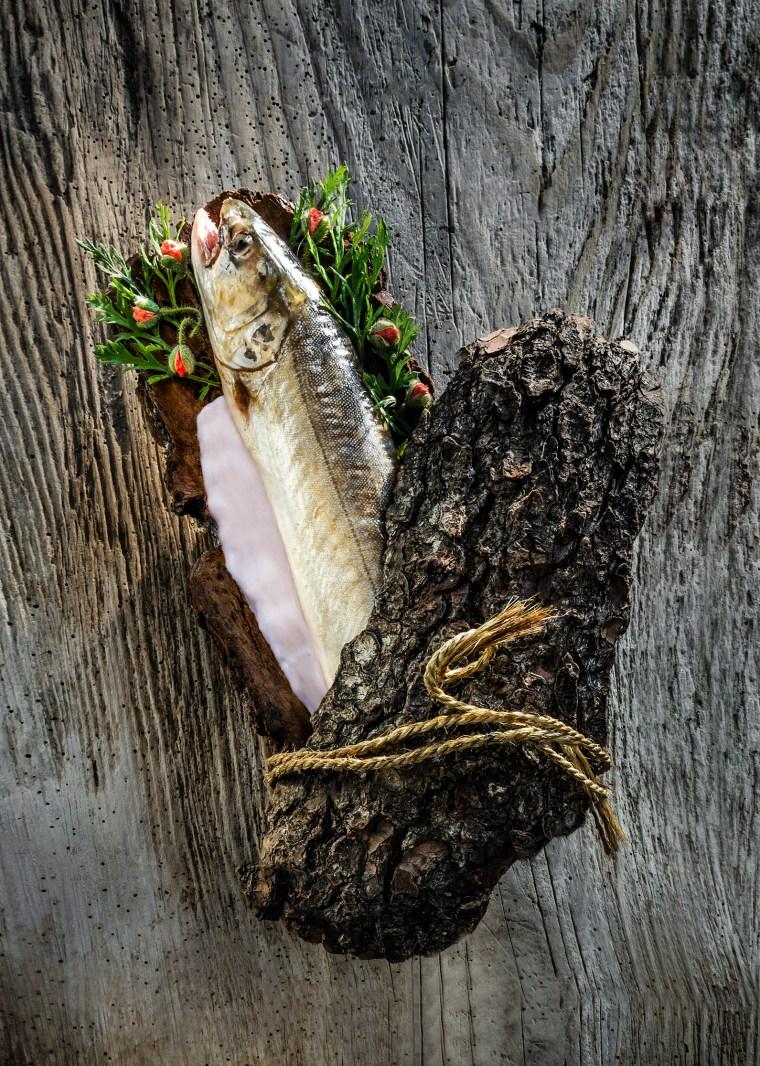 plat de poisson, de Marc Veyrat