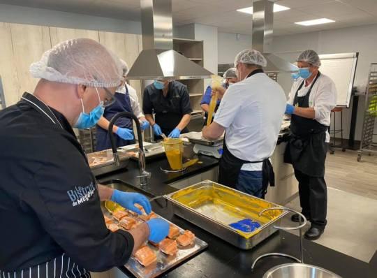 chefs confinement en cuisine