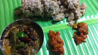 Oat Puttu & Kadala Curry